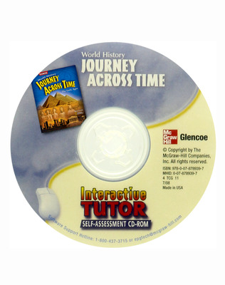 Journey Across Time, Early Ages, Interactive Tutor: Self-Assessment CD