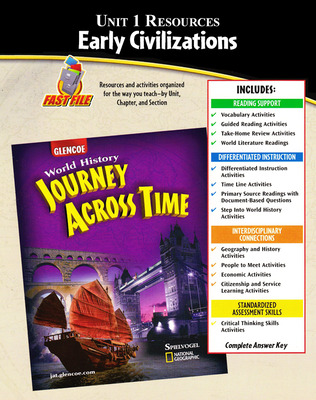 Journey Across Time, Unit Resources 1