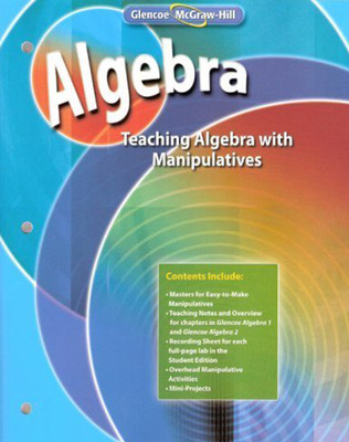 Teaching Algebra with Manipulatives