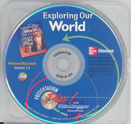 Exploring Our World, Presentation Plus with MindJogger Checkpoint DVD