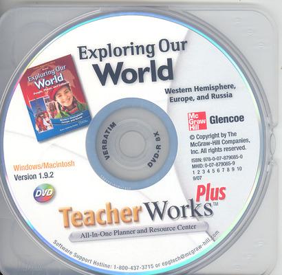 Exploring Our World: Western Hemisphere, Europe, and Russia, TeacherWorks Plus DVD