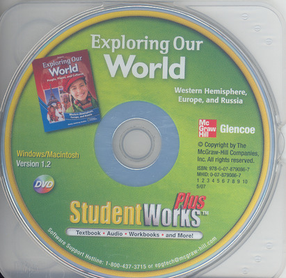 Exploring Our World: Western Hemisphere, Europe, and Russia, StudentWorks Plus DVD