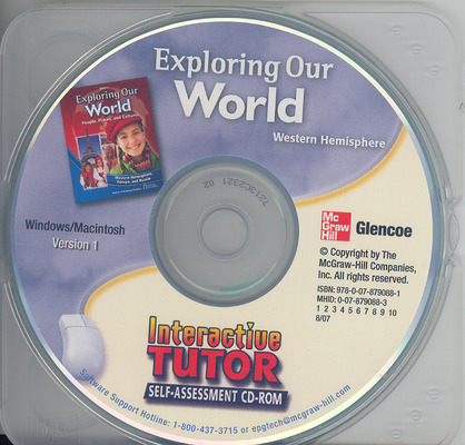 Exploring Our World: Western Hemisphere, Europe, and Russia, Interactive Tutor Self-Assessment CD-ROM