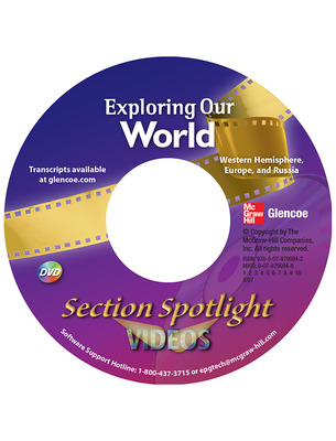 Exploring Our World: Western Hemisphere, Europe, and Russia Video Program DVD