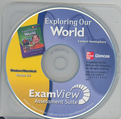 Exploring Our World: Eastern Hemisphere, ExamView Assessment Suite CD-ROM