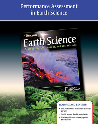 Glencoe Earth Science: Geology, the Environment, and the Universe, Performance Assessment in the Glencoe Earth Science Classroom