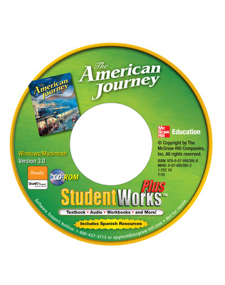 The American Journey, StudentWorks Plus CD-ROM