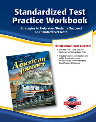 The American Journey, Modern Times, Standardized Test Practice Workbook