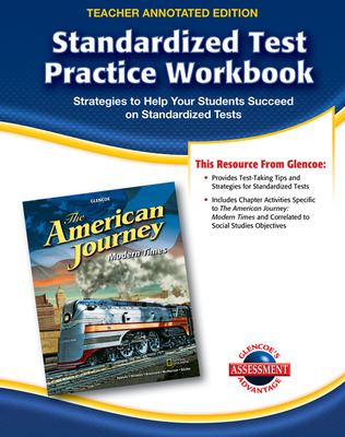 The American Journey, Modern Times, Standardized Test Practice Workbook Answer Key