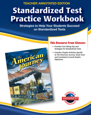 The American Journey, Early Years, Standardized Test Practice Workbook Answer Key