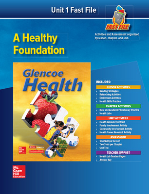 Glencoe Health, Fast File Unit Resources Unit 1