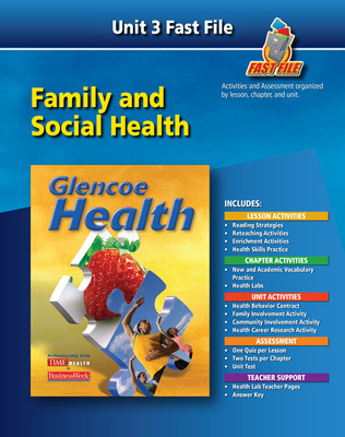 Glencoe Health, Fast File Unit Resources Unit 3