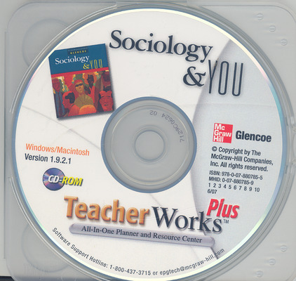 Sociology & You, TeacherWorks Plus CD-ROM