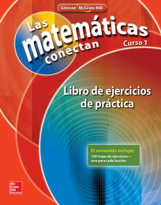 Math Connects: Concepts, Skills, and Problem Solving, Course 1, Spanish Practice Workbook