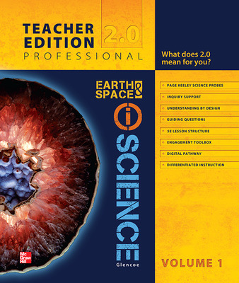 Glencoe Earth & Space iScience, Grade 6, Teacher Edition, Volume 1