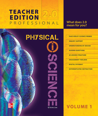 Glencoe Physical iScience, Grade 8, Teacher Edition, Volume 1
