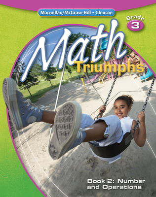 Math Triumphs, Grade 3, Student Study Guide, Book 2: Number and Operations
