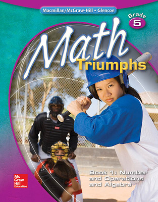 Math Triumphs, Grade 5, Student Study Guide, Book 1: Number and Operations and Algebra