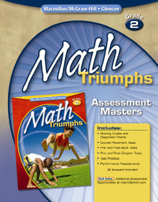 Math Triumphs, Grade 2, Assessment Masters