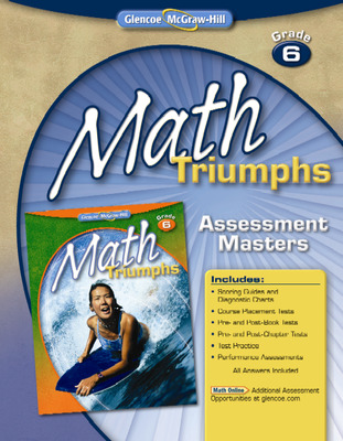 Math Triumphs, Grade 6, Assessment Masters