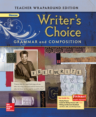 Writer's Choice, Grade 9, Teacher Wraparound Edition