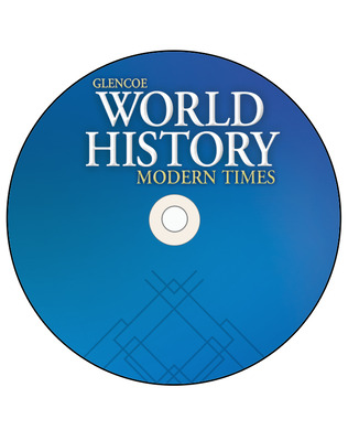 Glencoe World History: Modern Times, TeacherWorks Plus CD-ROM