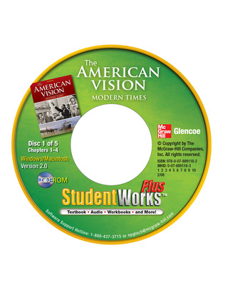 The American Vision: Modern Times, StudentWorks Plus CD-ROM