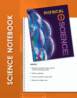 Glencoe Physical iScience, Grade 8, iScience Notebook, Student Edition