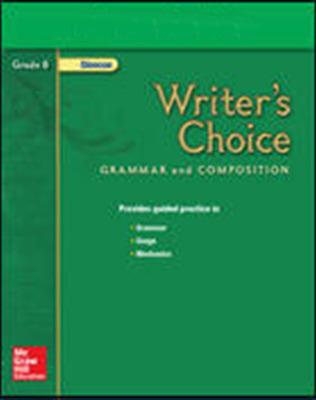 Writer's Choice, Grade 8, Presentation Plus! CD-ROM
