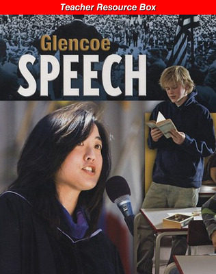 Glencoe Speech, Teacher Resources Box