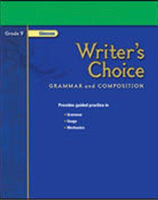 Writer's Choice, Grade 9, Composition Enrichment