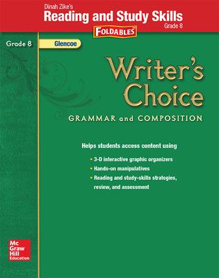 Writer's Choice, Grade 8, Dinah Zike's Foldables