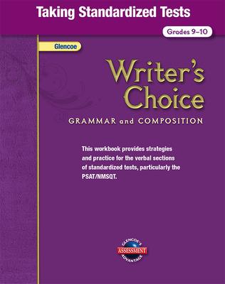Writer's Choice, Grades 9-10, Taking Standardized Tests