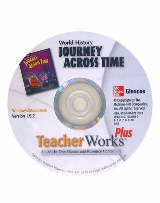 Journey Across Time, TeacherWorks Plus CD-ROM
