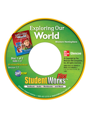 Exploring Our World: Western Hemisphere, Europe, and Russia, StudentWorks Plus, CD-ROM