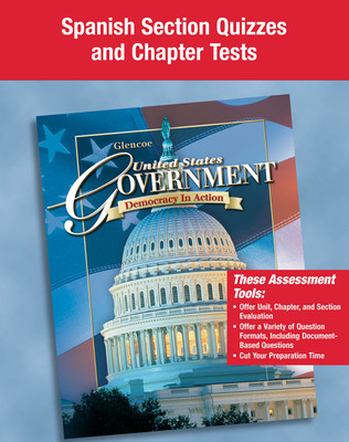 United States Government: Democracy in Action, Spanish Quizzes and Tests