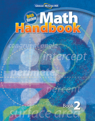 Quick Review Math Handbook, Book 2, Student Edition