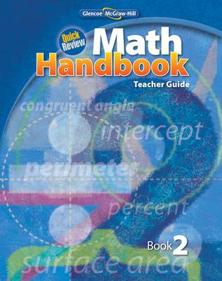 Quick Review Math Handbook, Book 2, Teacher Guide