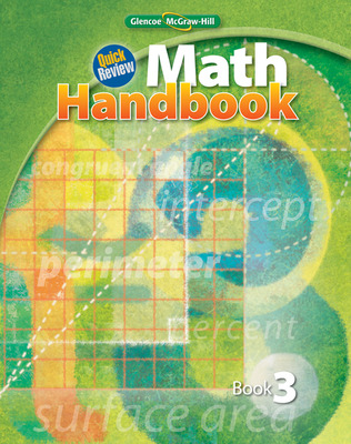 Quick Review Math Handbook, Book 3, Student Edition