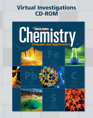 Chemistry: Concepts & Applications, Virtual Investigations CD-ROM