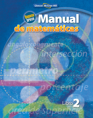 Quick Review Math Handbook, Book 2, Spanish Student Edition