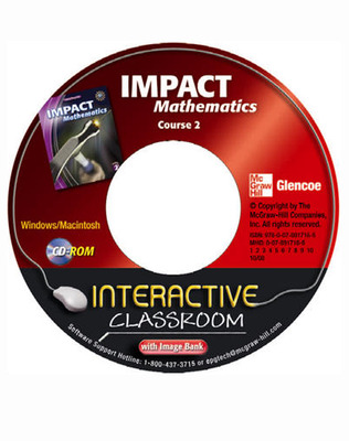 IMPACT Mathematics, Course 2, Interactive Classroom CD-ROM