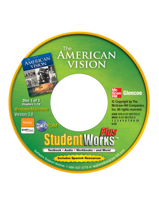 The American Vision, StudentWorks Plus CD-ROM