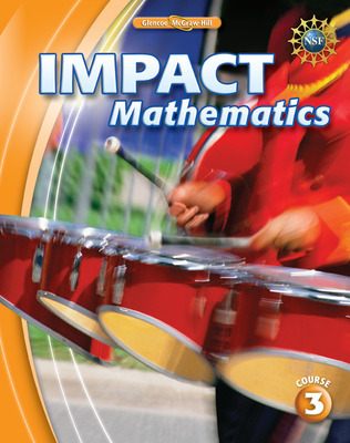 IMPACT Mathematics, Course 3, Chapter Resource Masters Package