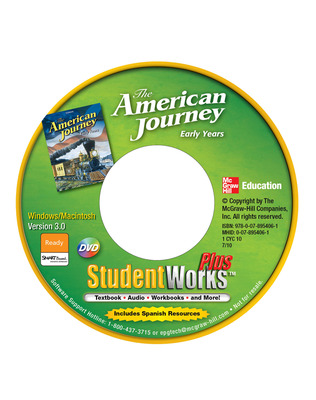 The American Journey, Early Years, StudentWorks Plus DVD