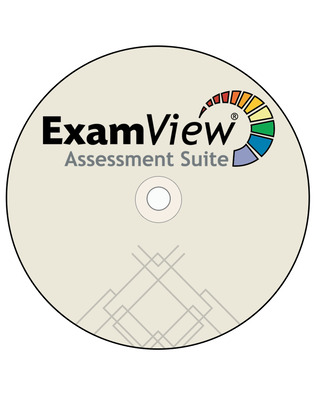 Glencoe Life iScience, Grade 7, ExamView® Assessment Suite CD-ROM