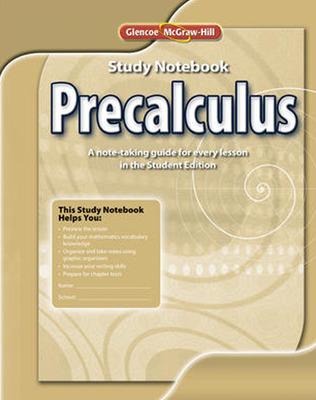 Precalculus, Study Notebook