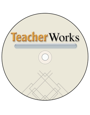 Glencoe Earth & Space iScience, Grade 6, TeacherWorks Plus™  DVD