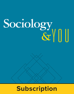 Sociology & You, Online Student Edition, 1-Year Subscription