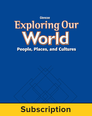 Exploring Our World, StudentWorks Plus Online, 6-Year Subscription